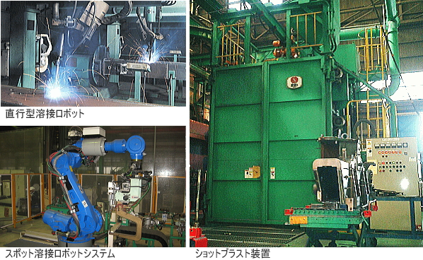 TADANO株式会社タダノアイレック溶接製缶加工